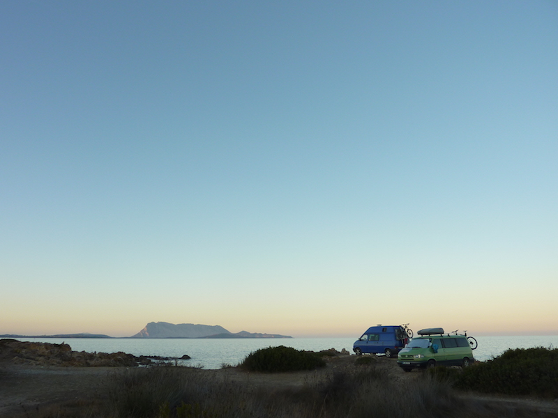 VW-Bus, Dr. D, Europatour 2014, Sardinien