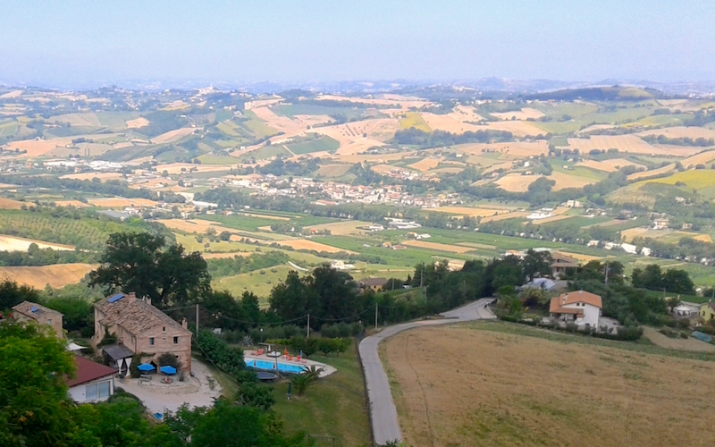 Yoga-Retreat in Italien